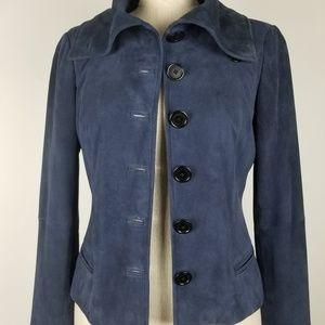 Lauren Ralph Lauren Ultra Soft Suede Jacket Blazer
